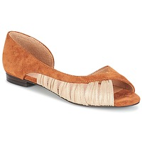 Shoes Women Sandals André PIPA Camel