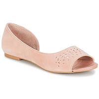 Shoes Women Flat shoes André HELIA Pink
