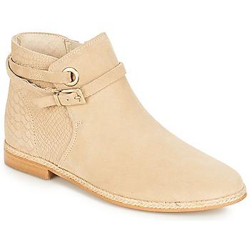 Shoes Women Mid boots André IDAHO Beige