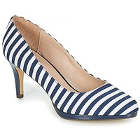 Shoes Women Heels André CRYSTAL Striped / Blue