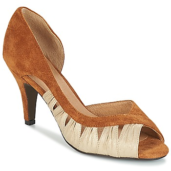Shoes Women Heels André PUNGI Camel