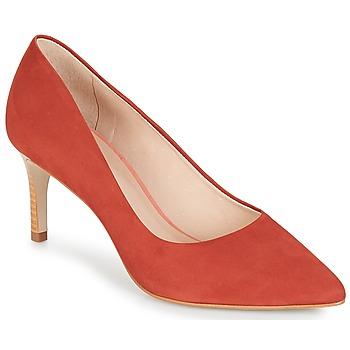 Shoes Women Heels André SCARLET Red / Orange