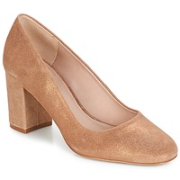 Shoes Women Heels André PENSIVE Bronze