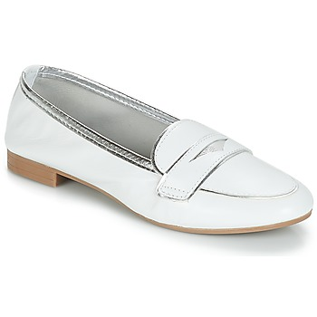 Shoes Women Loafers André CLOCHETTE White