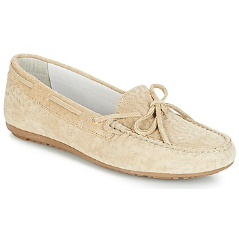 Shoes Women Loafers André FRIDA Beige