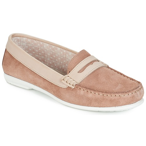 Shoes Women Loafers André FRIOULA Nude