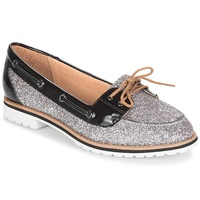 Shoes Women Boat shoes André JAY Silver