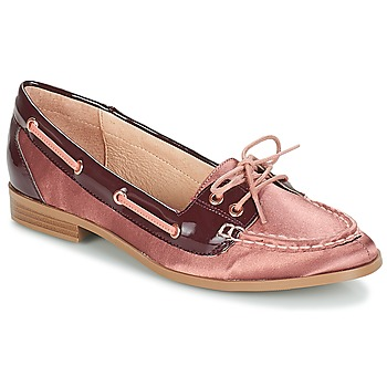 Shoes Women Boat shoes André NONETTE Pink