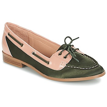 Shoes Women Boat shoes André NONETTE Kaki