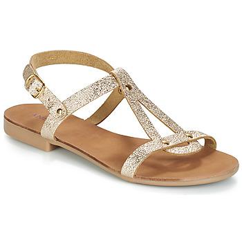 Shoes Women Sandals André TOUFOU Gold