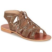 Shoes Women Sandals André MAUPITI Grey