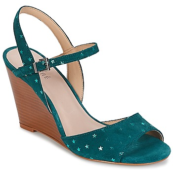 Shoes Women Sandals André BECKY Turquoise