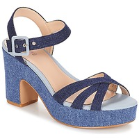 Shoes Women Sandals André CASTANA Blue