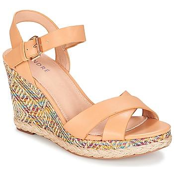 Shoes Women Sandals André ANTARES Nude