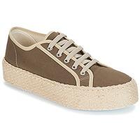 Shoes Women Low top trainers André LODGE Kaki