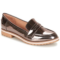 Shoes Women Loafers André PORTLAND Silver