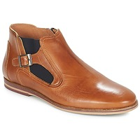 Shoes Men Mid boots André GAMIN Brown