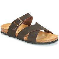Shoes Men Sandals André MAUX Brown