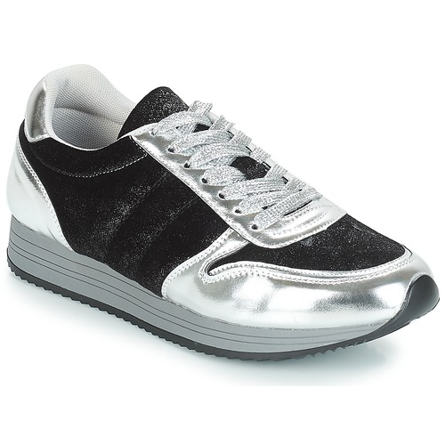 Shoes Women Low top trainers Chattawak CESENA Black
