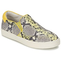 Shoes Women Slip ons Ash IMPULS Python / Yellow
