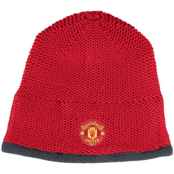 Clothes accessories Hats / Beanies / Bobble hats adidas Originals 2015-2016 Man Utd Beanie Hat Red