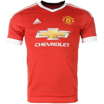 Clothing short-sleeved t-shirts adidas Originals 2015-16 Man United Home Shirt (Rooney 10) Red