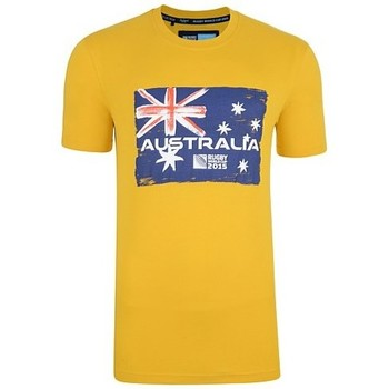 Clothing short-sleeved t-shirts Canterbury Australia Rwc 2015 Rugby T-shirt Yellow