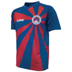 Clothing short-sleeved t-shirts Copa Classics 2011-12 Tibet Copa Home Football Shirt Red