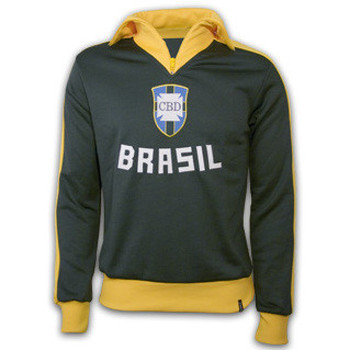 Clothing Jackets Copa Classics Brazil 1960's Retro Jacket polyester / cotton Green