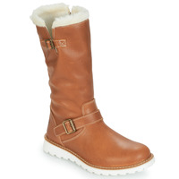 Shoes Girl High boots Citrouille et Compagnie HUSETTE Camel