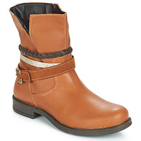 Shoes Girl Mid boots Citrouille et Compagnie JACKEE Camel