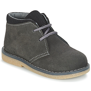 Shoes Boy Mid boots Citrouille et Compagnie JUSSA Grey