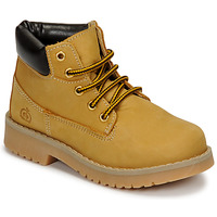 Shoes Children Hi top trainers Citrouille et Compagnie JERYU Brown / Wheat