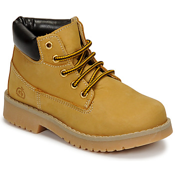 Shoes Children Hi top trainers Citrouille et Compagnie JERYU Yellow
