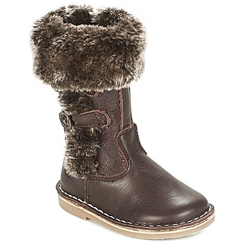 Shoes Girl High boots Citrouille et Compagnie JOSY Brown