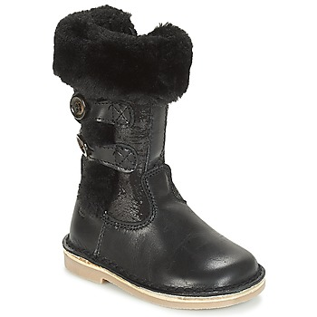 Shoes Girl High boots Citrouille et Compagnie JOSY Black