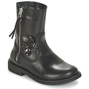 Shoes Girl Mid boots Citrouille et Compagnie JARINDA Black