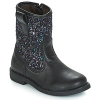 Shoes Girl Mid boots Citrouille et Compagnie JUCKER Black / Glitter