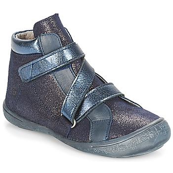 Shoes Girl Hi top trainers Citrouille et Compagnie HISSOU Blue