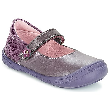 Shoes Girl Flat shoes Citrouille et Compagnie JITSONBU Purple