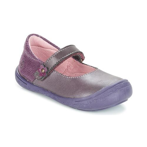 Shoes Girl Flat shoes Citrouille et Compagnie JITSONBU Purple