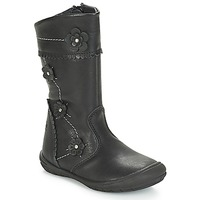 Shoes Girl High boots Citrouille et Compagnie JAMATIS Black