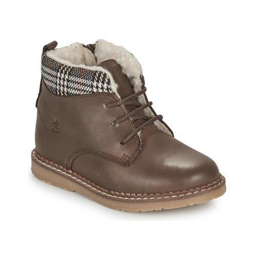 Shoes Boy Mid boots Citrouille et Compagnie JAMBOUT Brown