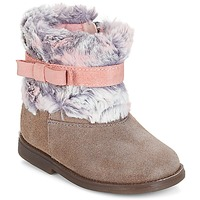Shoes Girl Mid boots Citrouille et Compagnie JERRADJE Grey / Pink