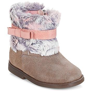 Shoes Girl Mid boots Citrouille et Compagnie JERRADJE Grey / Pink