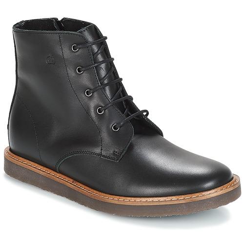 Shoes Children Mid boots Citrouille et Compagnie JENKI Black