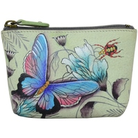 Bags Women Vanity cases Anuschka 1031 Wondrous Wings -Hand Painted Leather Multicolour