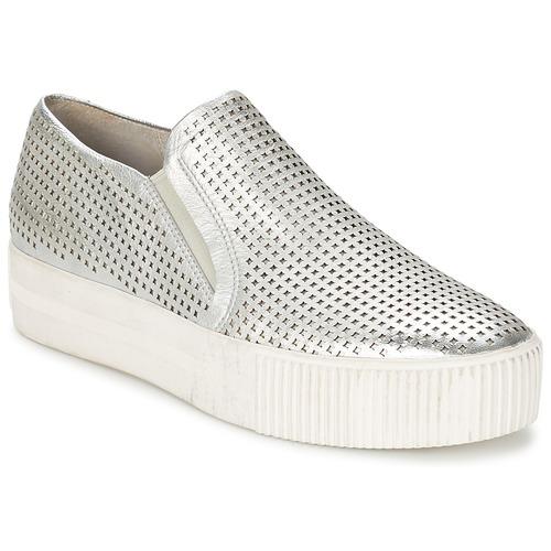 Shoes Women Slip-ons Ash KURT Silver