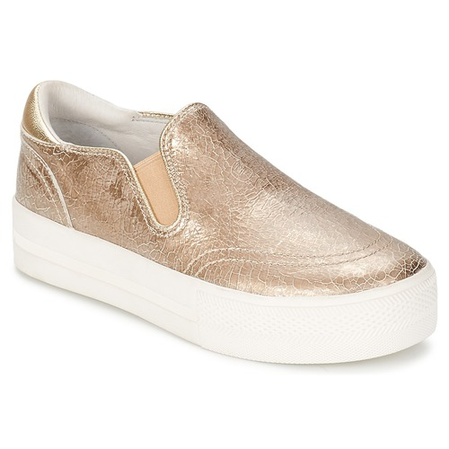 Shoes Women Slip-ons Ash JUNGLE Gold