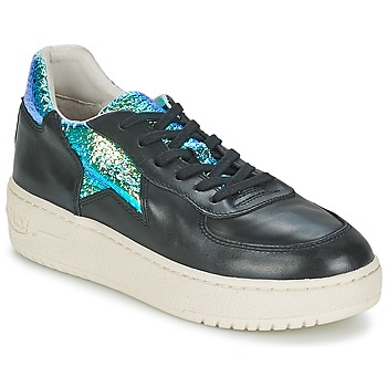 Shoes Women Low top trainers Ash FOOL Black / Green